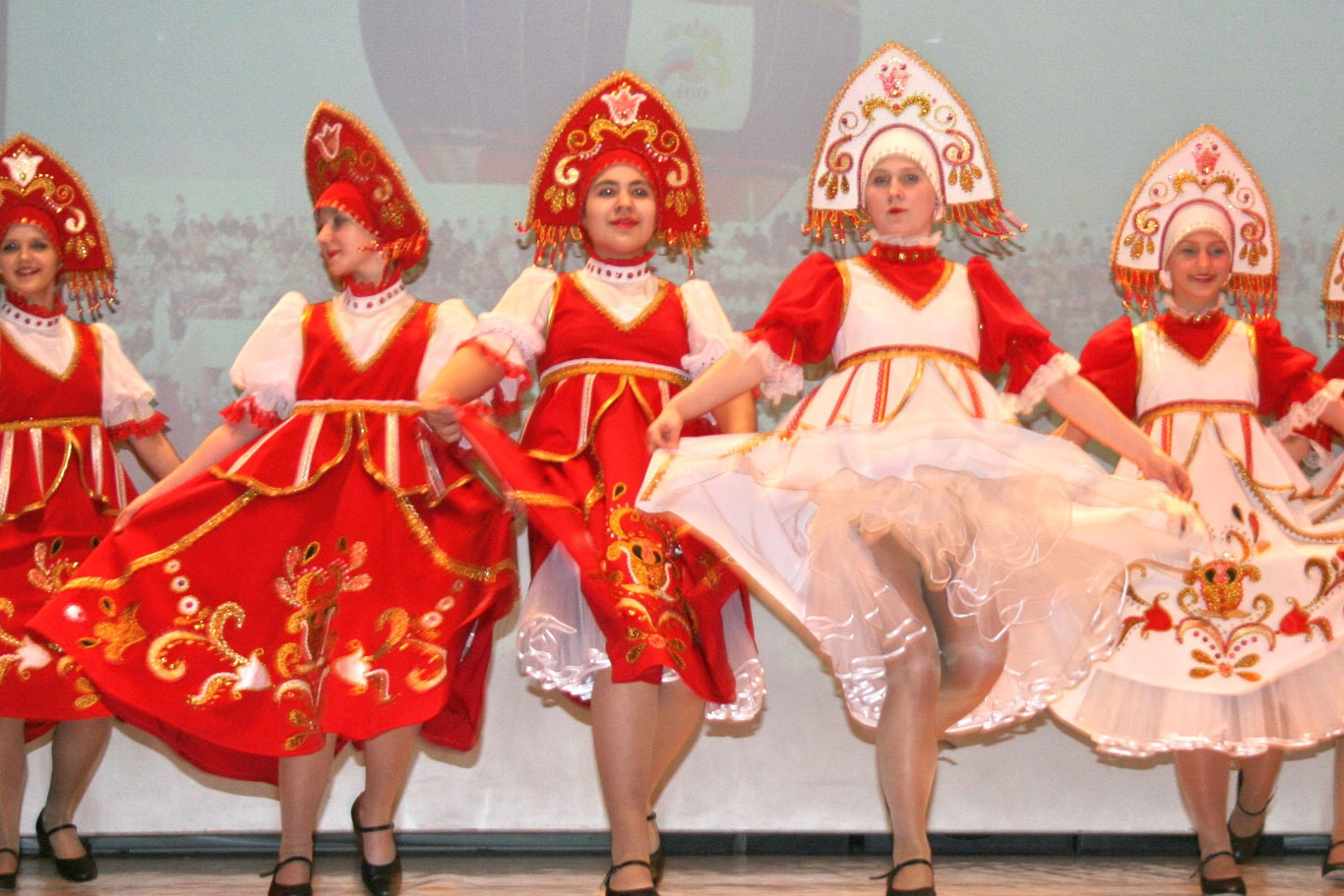 Russian Folk Dancers
